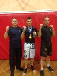 FRANCESCO SCACCIANOCE CAMPIONE D'ITALIA DI MMA