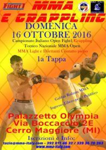 LA VERSUS ORGANIZZA GLI ITALIANI DI MMA