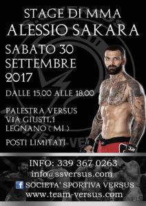 STAGE DI MMA CON ALESSIO SAKARA