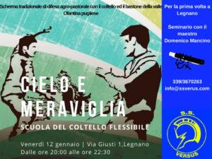 SEMINARIO DI ARTI MARZIALI ITALIANE