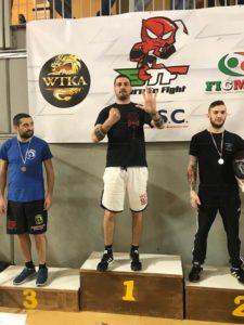 BRONZO AGLI ITALIANI DI STICK FIGHTING PER GRAZIANO PACIFICO