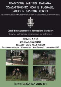 SEMINARIO DI TRADIZIONE MILITARE ITALIANA A LEGNANO