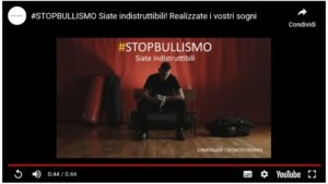 STOP AL BULLISMO CON LO SPORT, UN VIDEO DI FENICE ART IN COLLABORAZIONE CON LA VERSUS