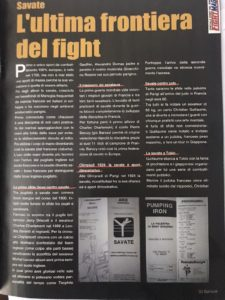 LA SAVATE SU FIGHT MAG